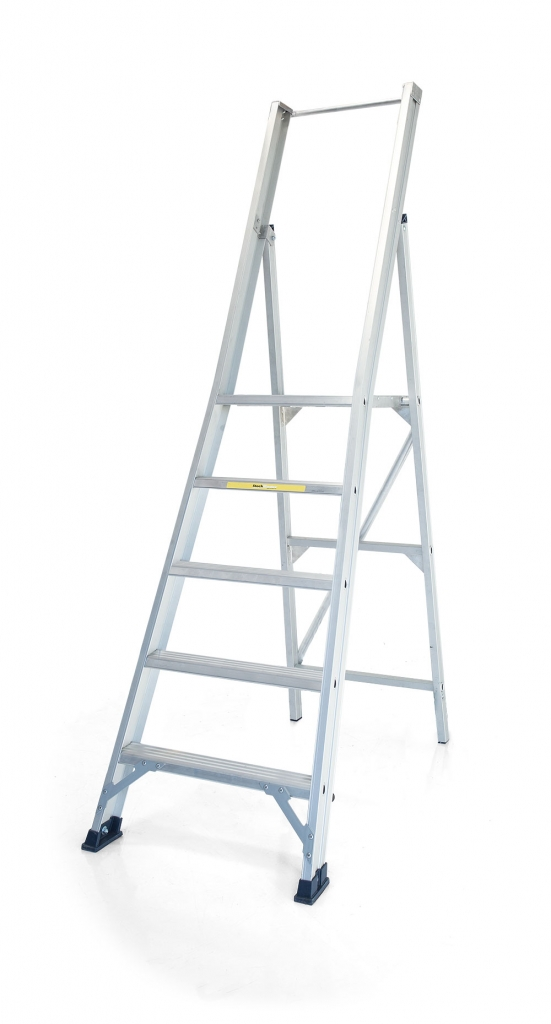 Product selection - StockMaster Surefoot transportable platform step ladders for construction and general applications.