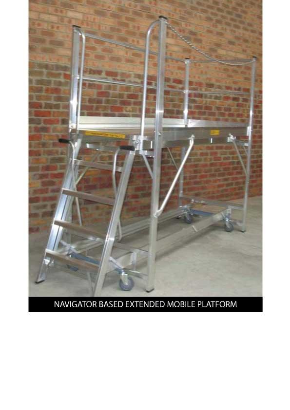 Custom Manufacturing Service - Navigator based Extended Mobile Platform