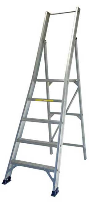 StockMaster Surefoot trade platform ladder for construction and general applications.