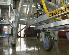 Warehouse Ladder | Stockmaster Navigator